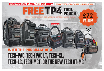 Get a free TP4 Tool Pouch