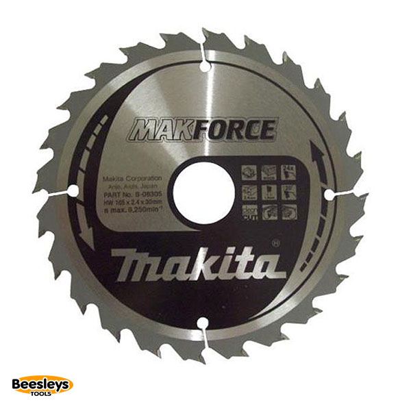 Makita B-08305 165mm 24tooth Blade for Wood