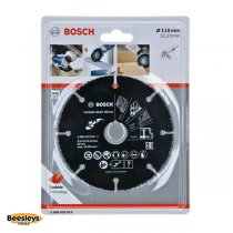 Bosch 115mm Carbide Multi Wheel
