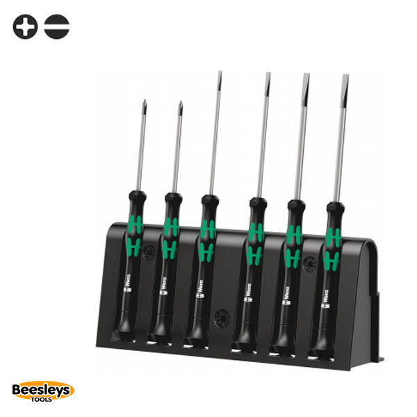 Wera 2035/6 A Screwdriver set and rack