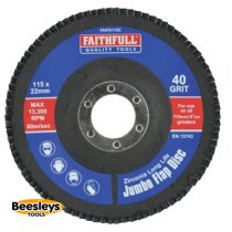 Faithfull 115mm Flap Disc 40Grit