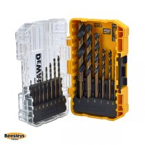 DEWALT DT70727 Black & Gold HSS Drill Set, 14 Piece