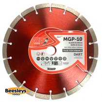 Dart MGP-10 Red Ten Diamond Blade 230mmx22mm bore
