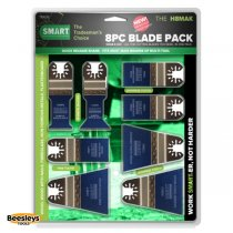 Smart 8 piece Multitool Blade Pack H8MAK