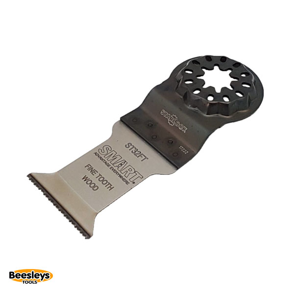 Smart Starlock Multitool Blades 32mm Pack of 3 ST32FT3