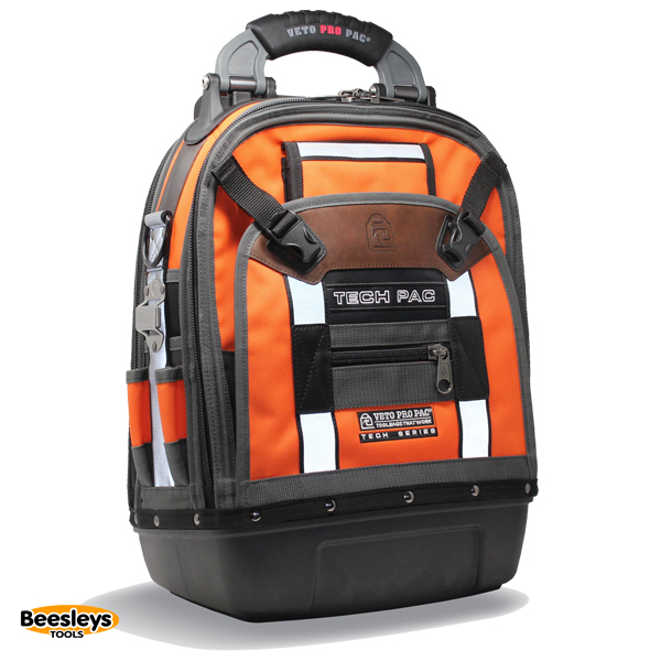 Veto Pro Pac TECH PAC HiViZ ORANGE Tool Back Pack plus free TP5B pouch