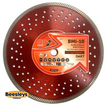 Dart BMI-10 Red Ten Diamond Blade 300mmx20mm bore