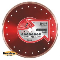 Dart SMI-7 Red Ten Diamond Blade 300mmx20mm bore