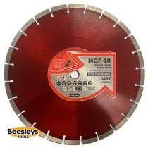 Dart MGP-10 Red Ten Diamond Blade 350mmx20mm bore