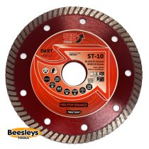 Dart ST-10 Red Ten Diamond Blade 125mmx22mm bore