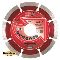 Dart MR-6 Red Ten Mortar Raking Diamond Blade 115mmx22mm bore