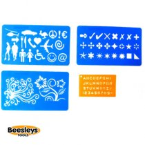 Dremel 4 Piece Stencil Set