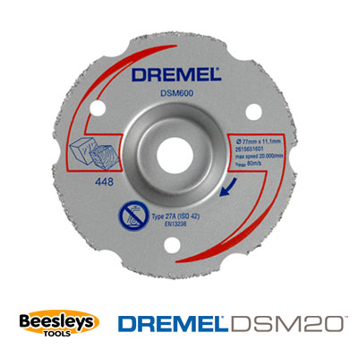 Dremel SM600 Multipurpose Flush Cutting Wheel for Saw Max