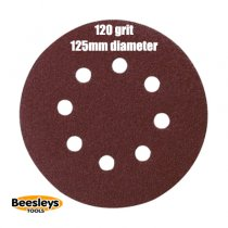 Makita P-43577 125mm Round Abrasive 120grit (pack 10)